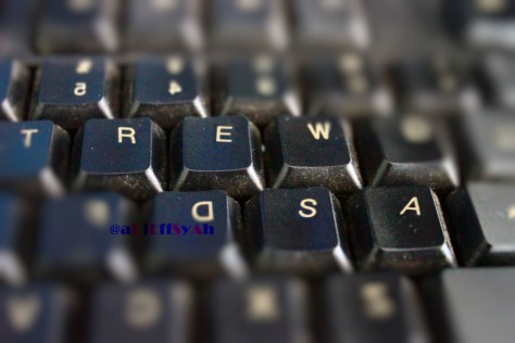 Love in QWERTY keyboard